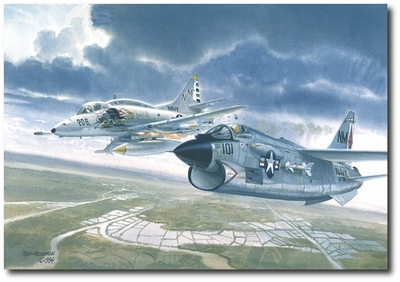 On Your Wing by Tom Freeman (A-7 Corsair, A-4 Skyhawk)