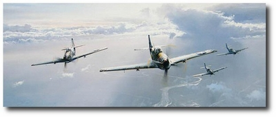Opening Sky by Robert Taylor (P-51 Mustang)