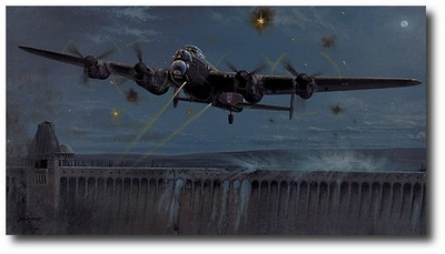 Operation Chastise - The Dambusters by Philip West (Lancaster)