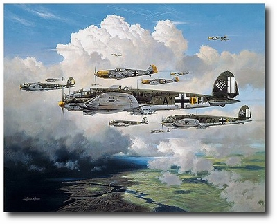 Out for Trouble by Heinz Krebs (He111)