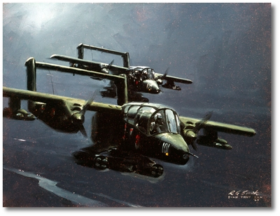 OV-10s Looking for Trouble by R.G. Smith (Bronco)