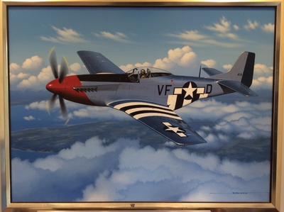 P-51D Mustang by Stan Stokes (Original)