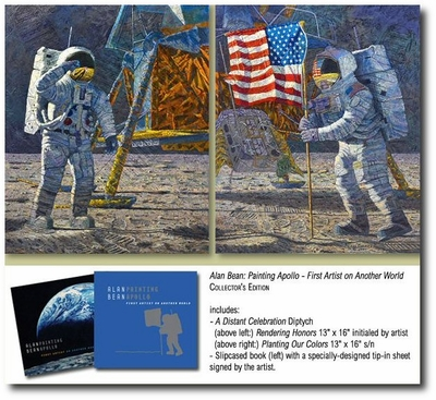 Painting Apollo: First Artist on Another World by Alan Bean