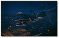 Panthers Over Bosnia by Ronald Wong (F-15)