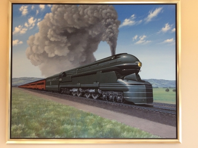 Pennsylvania Locomotive by Stan Stokes (Original)