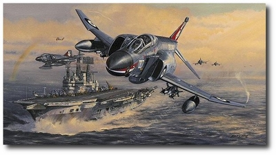 Phantoms and the Ark Royal by Philip West (F-4 Phantom)