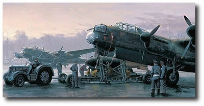 Preparing for the Tirpitz by Philip West (Lancaster)
