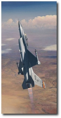 Pride of Arizona by William S. Phillips (F-16 Falcon)