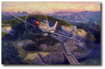 Railroaded by Rick Herter (P-51)