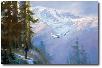 Rainier Encounter  by Jack Fellows (Model 247)