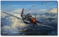 Ramrod - Outward Bound by John Shaw (P-51 Mustang)