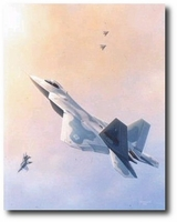 Raptor Dominance by Domenic DeNardo (F-22)