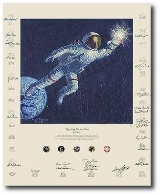 Reaching for the Stars by Alan Bean (Apollo)