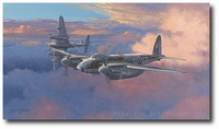Ready for Action by Philip West (De Havilland Mosquito)