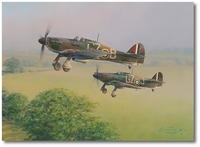 Response to Call by Robert Taylor (Hawker Hurricane)
