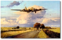 Return of the Belle by Robert Taylor (B-17 Memphis Belle)
