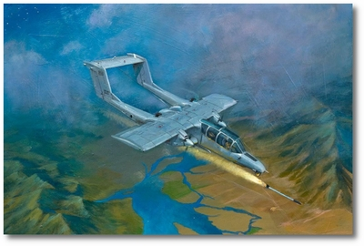 Return of the Black Ponies by Bryan David Snuffer (OV-10 Bronco)