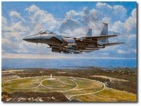 Return of the Lancer by Ronald Wong (F-15E Strike Eagle)