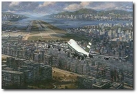 Return to Kai Tak by Ronald Wong (Boeing 747)