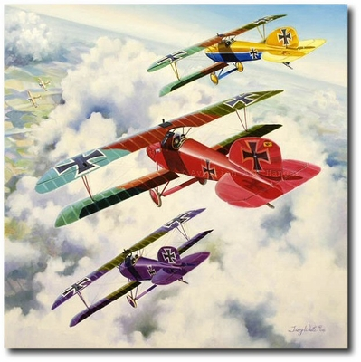 Ride of the Valkyries by Troy White (Albatros D.III)