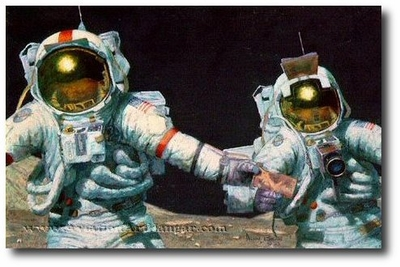 Right Stuff Field Geologists by Alan Bean (Apollo)