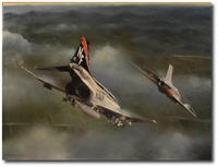 Rock River Advantage by Robert D. Fiacco (F-4 Phantom)