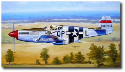 Salem Rep by Troy White (P-51 Mustang)