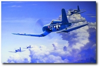 Salute to the Jolly Rogers by Domenic DeNardo (F4U)
