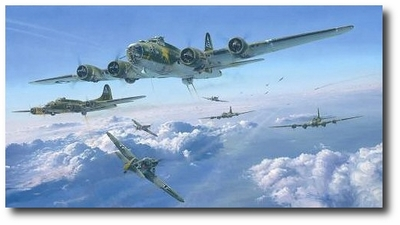 Schweinfurt - The Second Mission by Robert Taylor (B-17)
