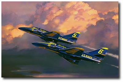 Scooters by Jack Fellows (A-4 Skyhawk)