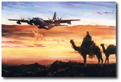 Ships of the Desert by Rick Herter (C-130 Hercules)