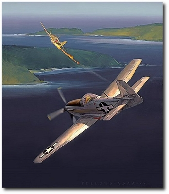 Shomo - the Natural by Jack Fellows (P-51 Mustang)