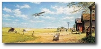 Shrinking Land by John Young (Ford Trimotor)