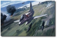 Skyhawk Tribute by Roy Grinnell (A-4)