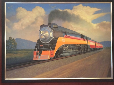 "Southern Pacific ""Daylight"" by Stan Stokes (Original)"