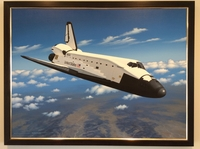 Space Shuttle Discovery by Stan Stokes (Original)