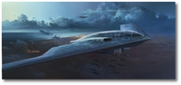 Spirit Visitation by Rick Herter (B-2 Spirit)