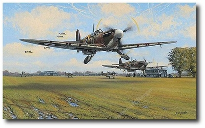 Spitfire Scramble by Philip West