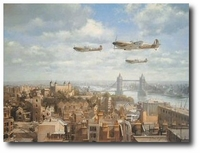 Spitfires Over London by John Young