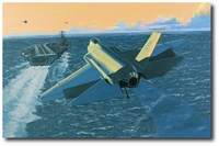 Stealth From the Sea by K. Price Randel (F-35 Lighting II (JSF))