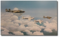 Surrender Flight by Michael Hagel (B-25)