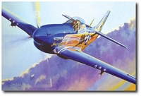 Sweet & Lovely by Troy White (P-51 Mustang)