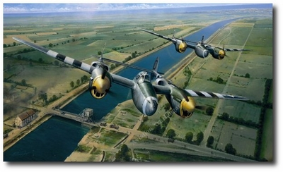 Tactical Support by Richard Taylor (P-38 Lightning)