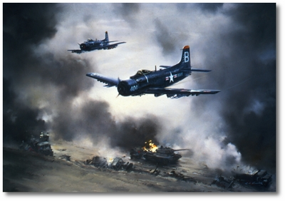 Tank Busters in Korea by R.G. Smith (A-1 Skyraider (AD-4))