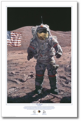 The American by Alan Bean