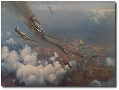 The Battle of Britain by Frank Wootton