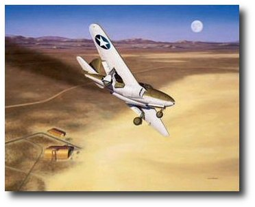 The Beginning by Mike Machat (XP-59A)