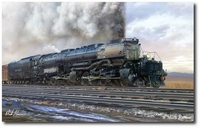 The Big Show by Mark Karvon (Union Pacific 4000 Class Big Boy)
