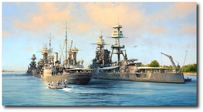The Calm Before the Storm by Robert Taylor (USS Arizona)