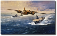 The Doolittle Tokyo Raiders by Robert Taylor (B-25 Mitchell)